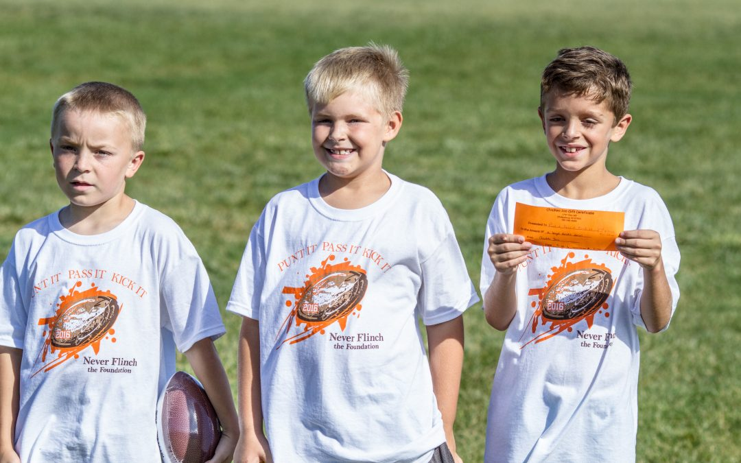 2nd Annual Punt It, Pass It, Kick It