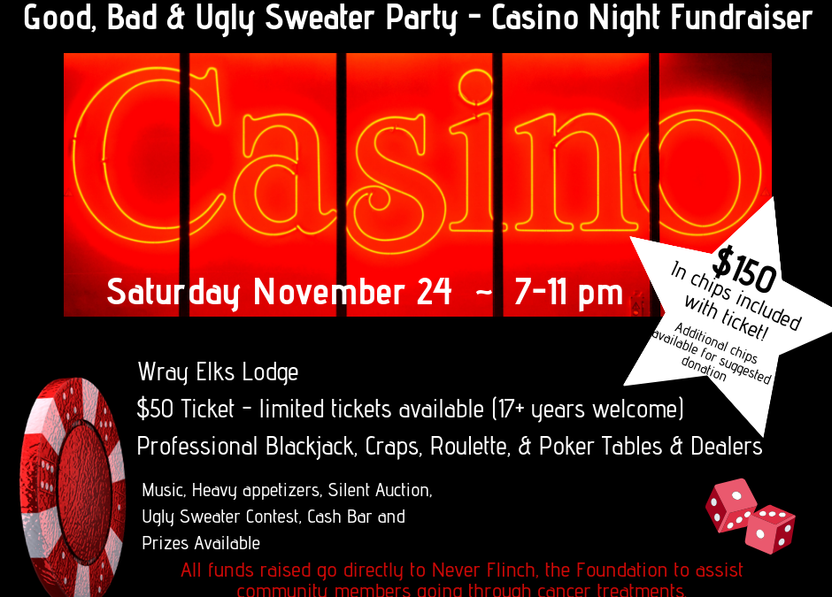 Ugly Sweater Casino Night